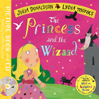 Princess and the Wizard - Book and CD Pack (Donaldson Julia)(Book)
