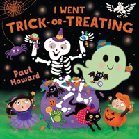 1, 2, BOO! - A Spooky Counting Book (Howard Paul)(Board book)