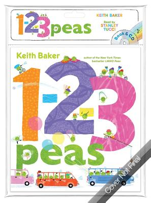 1-2-3 Peas - Book & CD (Baker Keith)(Paperback)
