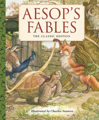 Aesop's Fables - A Little Apple Classic (Santore Charles)(Pevná vazba)