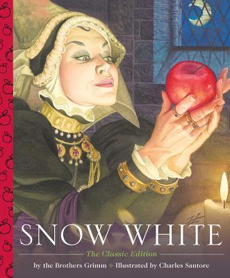 Snow White - A Little Apple Classic (Santore Charles)(Pevná vazba)