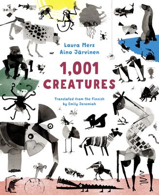 1,001 Creatures (Merz Laura)(Pevná vazba)