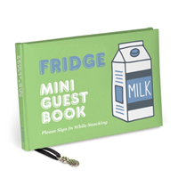 Knock Knock Fridge Mini Guest Book(Notebook / blank book)