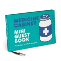 Knock Knock Medicine Cabinet Mini Guest Book(Notebook / blank book)