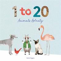 1 to 20 Animals Aplenty (Viggers Katie)(Pevná vazba)