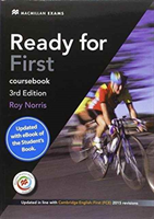 Ready for First (FCE) (3rd Edition) Student's Book without Key with Macmillan Practice Online, Online Audio & eBook (Norris Roy)(Mixed media product)