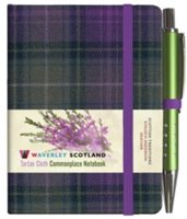 Heather Tartan: Mini Notebook with Pen: 10.5 x 7cm: Scottish Traditions: Waverley Genuine Tartan Cloth Commonplace Notebook(Pevná vazba)
