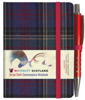 Hunting Tartan: Mini Notebook with Pen; 10.5 x 7.5cm: Scottish Traditions: Waverley Genuine Tartan Cloth Commonplace Notebook(Pevná vazba)