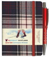 Dress Tartan Notebook: Mini with Pen: 10.5 x 7.5cm: Scottish Traditions: Waverley Genuine Tartan Cloth Commonplace Notebook(Pevná vazba)