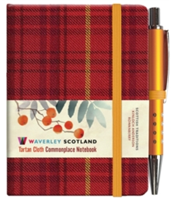Rowanberry Tartan: Mini Notebook with Pen: 10.5 x 7.5cm: Waverley Genuine Tartan Cloth Commonplace Notebook(Pevná vazba)
