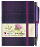Thistle Tartan: Mini with Pen: Scottish Traditions: Waverley Genuine Tartan Cloth Commonplace Notebook(Pevná vazba)