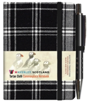 Black and White Tartan: Mini with Pen: Scottish Traditions: Waverley Genuine Tartan Cloth Commonplace Notebook(Pevná vazba)