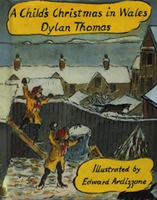 A Child's Christmas In Wales Illustrated Edition (Thomas Dylan)(Pevná vazba)