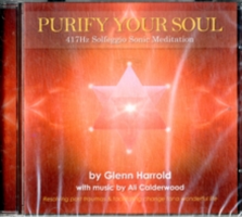 417hz Solfeggio Meditation. - Resolving Past Traumas & Facilitating Change for a Wonderful Life (Harrold Glenn)(CD-Audio)