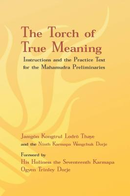 Torch of True Meaning: Instructions and the Practice for the Mahamudra Preliminaries (Lodro Thaye Jamgon Kongtrul)(Paperback)