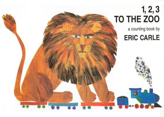 1, 2, 3 to the Zoo - An Oversized Counting Book (Carle Eric)(Board book)