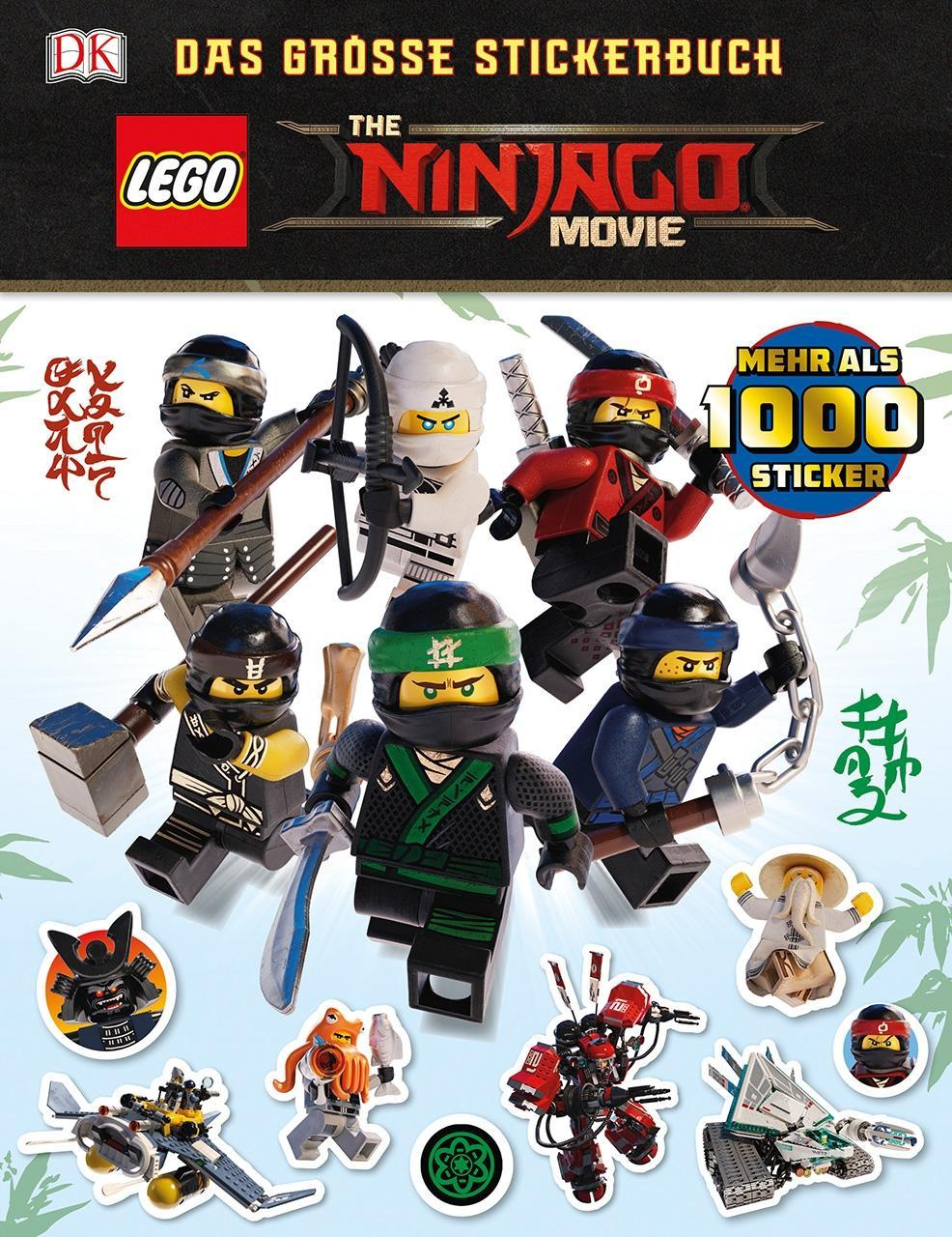 THE LEGO NINJAGO MOVIE Das groe Stickerbuch (March Julia)(Paperback)(v němčině)