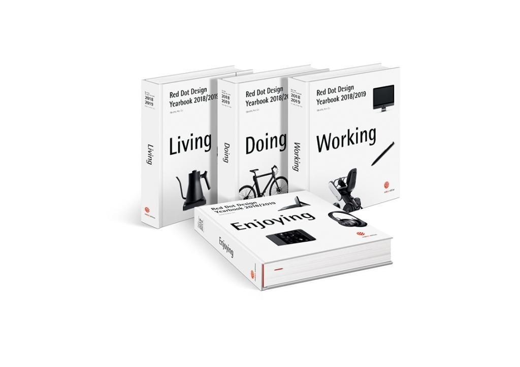 Red Dot Design Yearbook 2018/2019 - Living, Doing, Working & Enjoying (Zec Peter)(Book)