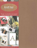 "Kraft-Tex(R) 5-Color Sampler Pack, 10 Sheets, 8 1/2"" x 11"" - Kraft Paper Fabric(General merchandise)"