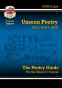 New GCSE English Literature AQA Unseen Poetry Study & Exam Practice - For the Grade 9-1 Course (CGP Books)(Paperback)