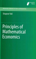 Principles of Mathematical Economics (Vali Shapoor)(Pevná vazba)