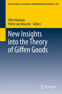 New Insights into the Theory of Giffen Goods (Heijman Wim)(Paperback)