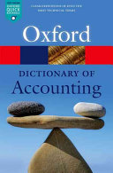 Dictionary of Accounting (Law Jonathan)(Paperback)