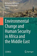 Environmental Change and Human Security in Africa and the Middle East(Pevná vazba)