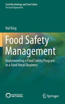 Food Safety Management - Implementing a Food Safety Program in a Food Retail Business (King Hal)(Pevná vazba)