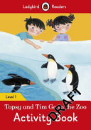 Topsy and Tim: Go to the Zoo Activity Book - Ladybird Readers Level 1(Paperback)