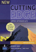 New Cutting Edge Upper Intermediate Students Book and CD-ROM Pack (Cunningham Sarah)(Mixed media product)