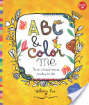 ABC & Color Me - The Art of Hand-Lettered Doodling for Kids (Cis Valeria)(Paperback)