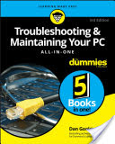 Troubleshooting and Maintaining Your PC All-in-One For Dummies (Gookin Dan)(Paperback)