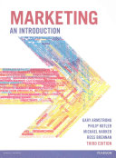 Marketing: An Introduction (Armstrong Gary)(Paperback)