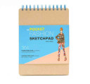Pocket Fashion Sketchpad - 220 Figure Templates for Designing Looks and Capturing Inspiration(Record book)