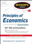 Schaum's Outline of Principles of Economics (Salvatore Dominick)(Paperback)