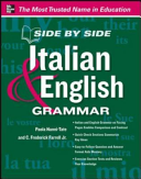 Side by Side Italian and English Grammar (Nanni-Tate Paola)(Paperback)