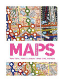 Paula Scher Maps - 3 Mini Journals(Notebook / blank book)