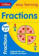 Fractions Ages 5-7 - New (Collins Easy Learning)(Paperback)