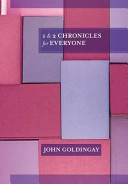 1 and 2 Chronicles for Everyone (Goldingay John)(Paperback)