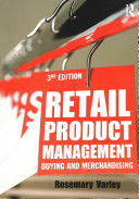 Retail Product Management - Buying and Merchandising (Varley Rosemary)(Paperback)