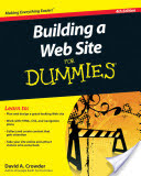 Building a Web Site For Dummies (Crowder David A.)(Paperback)