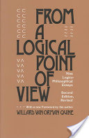 From a Logical Point of View - Nine Logico-Philosophical Essays (Quine W. V.)(Paperback)