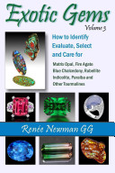 Exotic Gems - Volume 3: How to Identify, Evaluate, Select & Care for Matrix Opal, Fire Agate, Blue Chalcedony, Rubellite, Indicolite, Paraiba & Other Tourmalines (Newman Renee)(Paperback)
