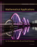 Mathematical Applications for the Management, Life, and Social Sciences - Pre-Birth Through Adolescence (Harshbarger Ronald J.)(Pevná vazba)
