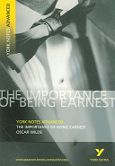 Importance of Being Earnest: York Notes Advanced (Wilde Oscar)(Paperback)