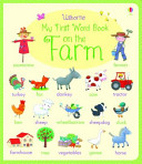 My First Word Book on the Farm (Brooks Felicity)(Board book)