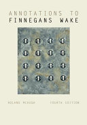 Annotations to Finnegans Wake (McHugh Roland)(Paperback)
