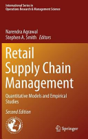 Retail Supply Chain Management - Quantitative Models and Empirical Studies (Agrawal Narendra)(Pevná vazba)