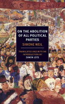 On the Abolition of All Polictical (Weil Simone)(Paperback)